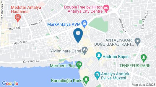 Ozhan Hotel Map