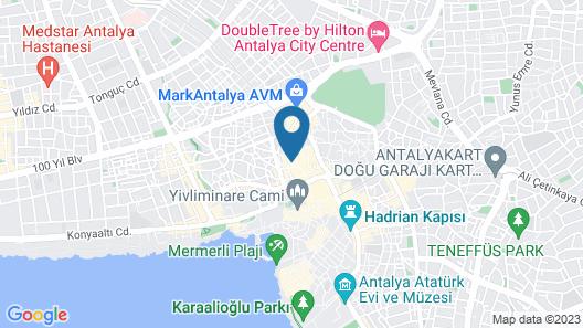 Kisla Pansiyon Map