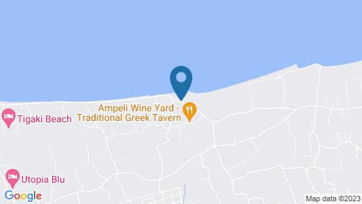 Irina Beach Hotel Map