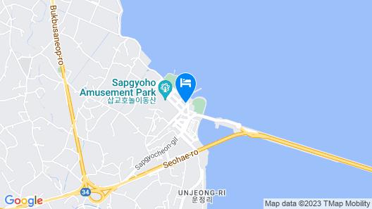 Dangjin Sapgyoho Beach Park Map