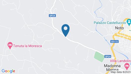 Camping Fiori di Noto Map