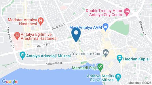 Doğuş Hotel Map