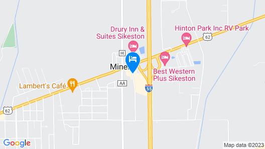Travel Inn & Suites Map