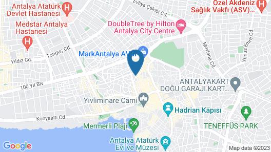 Piyes Otel Map