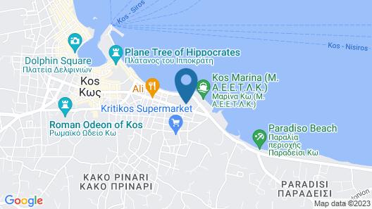 Hotel Yiorgos Map