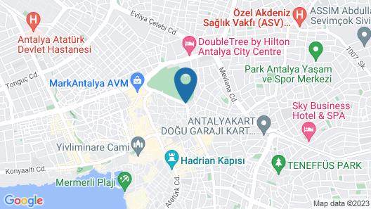 Privado Hotels Map