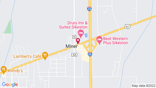 Pear Tree Inn Sikeston Map