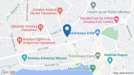 Hotel Antroyal Map
