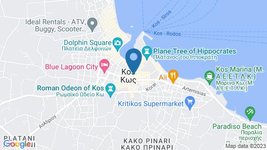 Continental Palace Map
