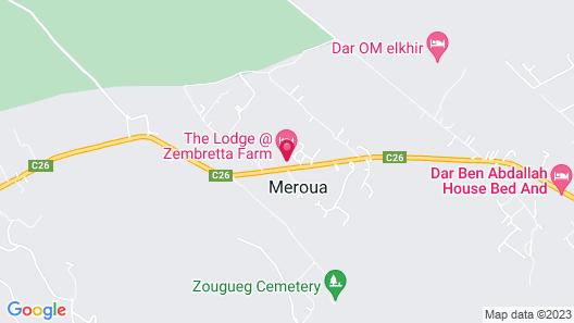 Zembretta Farm-Zembrettita Map