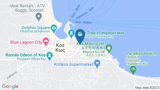 Triton Hotel Map