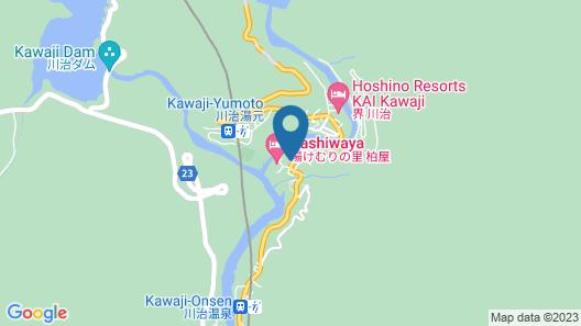 Motoyu Shiraiya Map