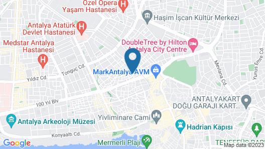 Ersoy Ak Pansiyon Map