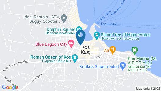 Alexandra Hotel Map