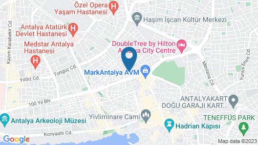 Gurtas Hotel Map