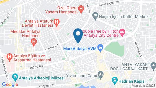 Hotel Alyans Map