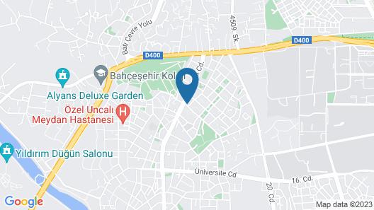 Safir Apartments Map