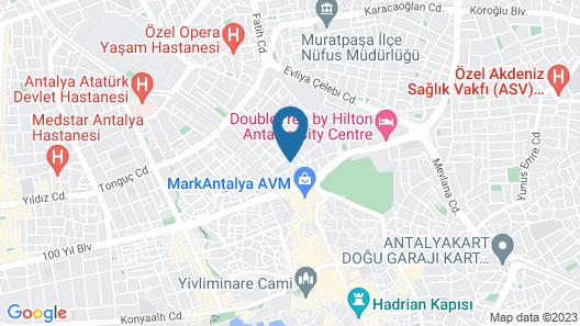 Ersoy Aga Otel Map