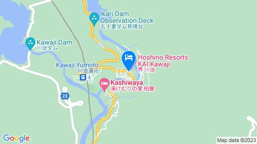 Hoshino Resorts KAI Kawaji Map