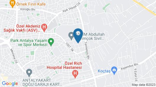 Duru Evi Map
