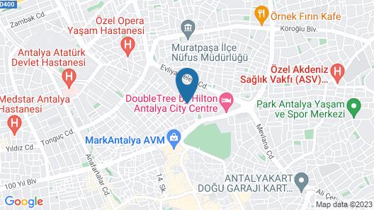 Comfort Basaran Otel Map
