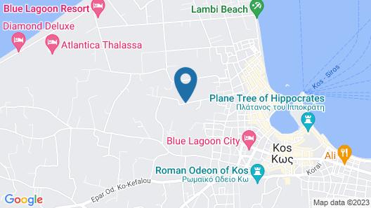 Diamond Boutique Hotel Map