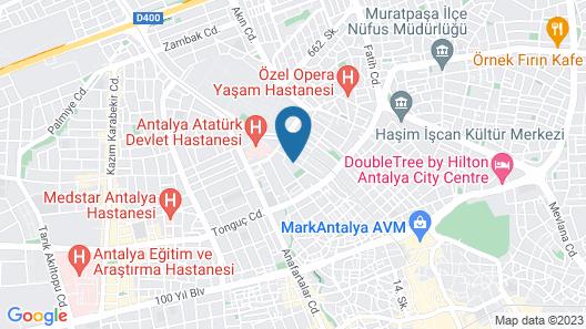 Seven City Hotel Map