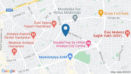 Denizhan Otel Map