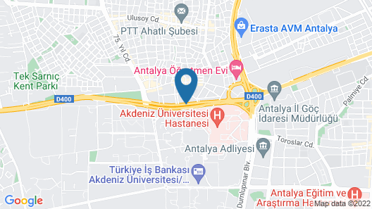 Anelli Hotel Map