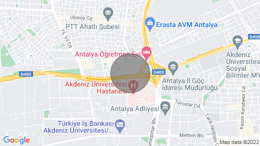 Whi̇te CAT Apart Otel Map