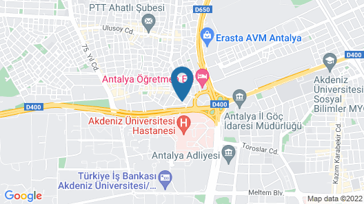 White Cat Sevgi Otel Map