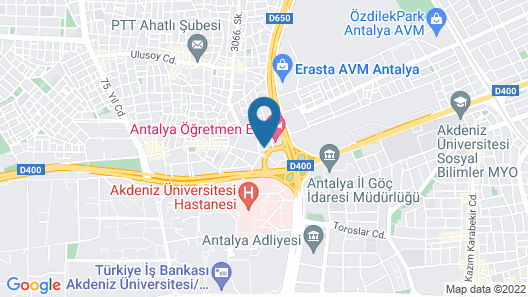 Hotel Mandalin Map