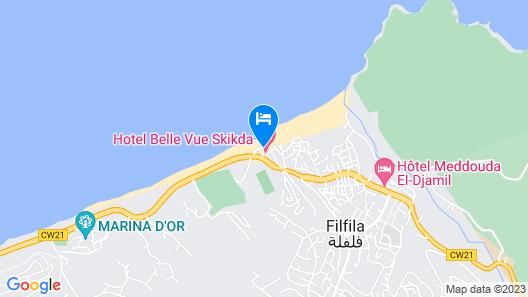Hotel Belle Vue Map