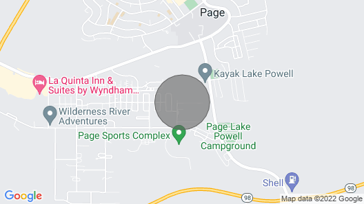 Modern Home <7Mi to Lake Powell & Antelope Canyon! Map