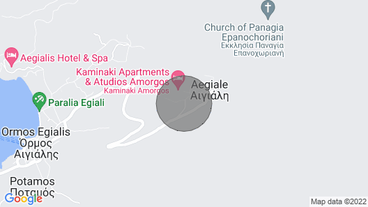 Spyridon House, Your Typical Cycladic Home in Langada Map