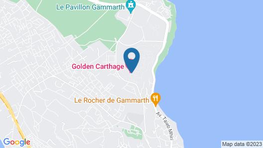 Golden Tulip Carthage Residence Map