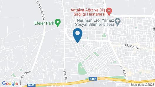 Yakamoz Pansiyon Map