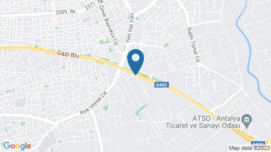 Han Otel Map