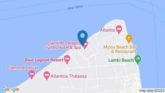 Pelagos Suites Hotel & Spa Map