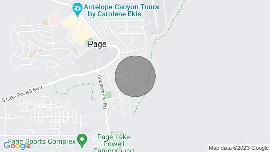 New Luxurious Antelope Canyon, Horseshoe Bend, Lake Powell home! Map