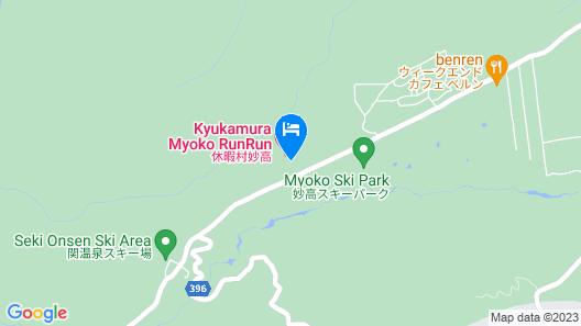 Kyukamura Myoko Map