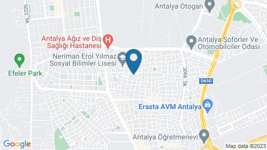 Acar Apart Otel 2 Map