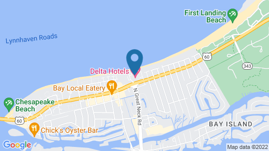 Delta Hotels by Marriott Virginia Beach Bayfront Suites Map