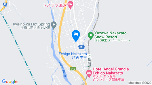 Nakasumi Ryokan Map