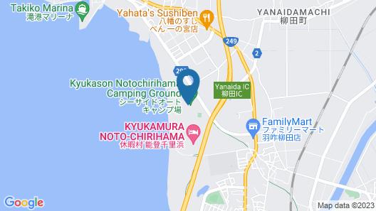 Kyukamura Noto-Chirihama Map