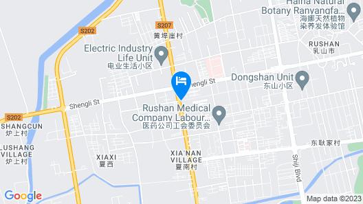 Home Inn Rushan Qingshan Road Map