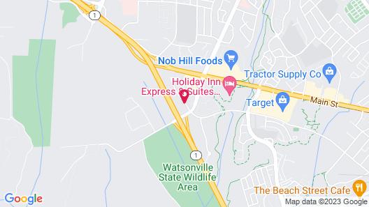 Motel 6 Watsonville, CA - Monterey Area Map