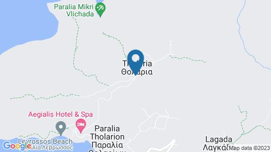 Vigla Hotel Map