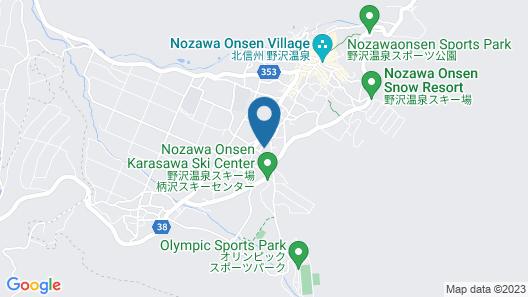 Alpine Villa Nozawa Map