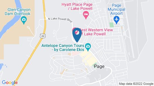Travelodge by Wyndham Page Map